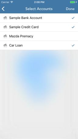 Cashflow-Accounts
